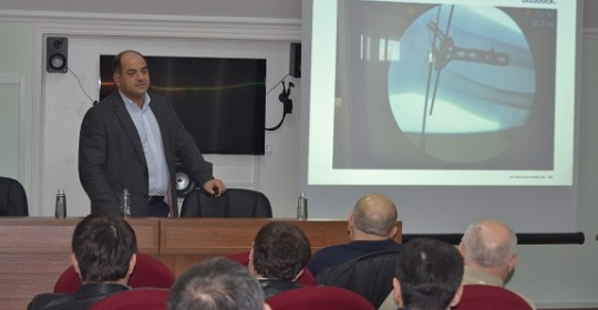 В стенах клиники «Здоровая нация» прошла  практическая конференция на тему: «Современные хирургические методы лечения и реабилитация в травматологии»